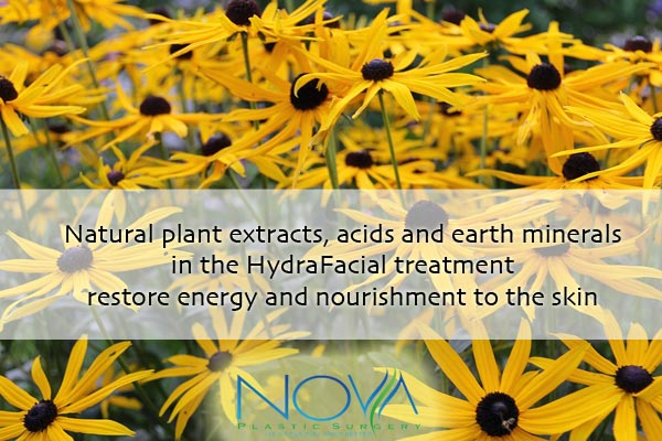 HydraFacial natural plant extracts