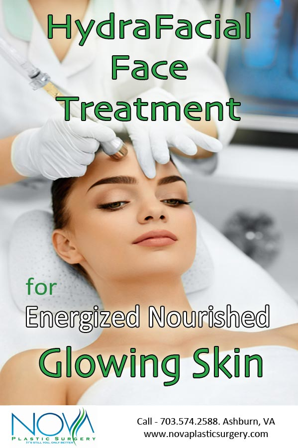 HydraFacial Face Treatment for Energized Nourished Healthy Glowing Skin